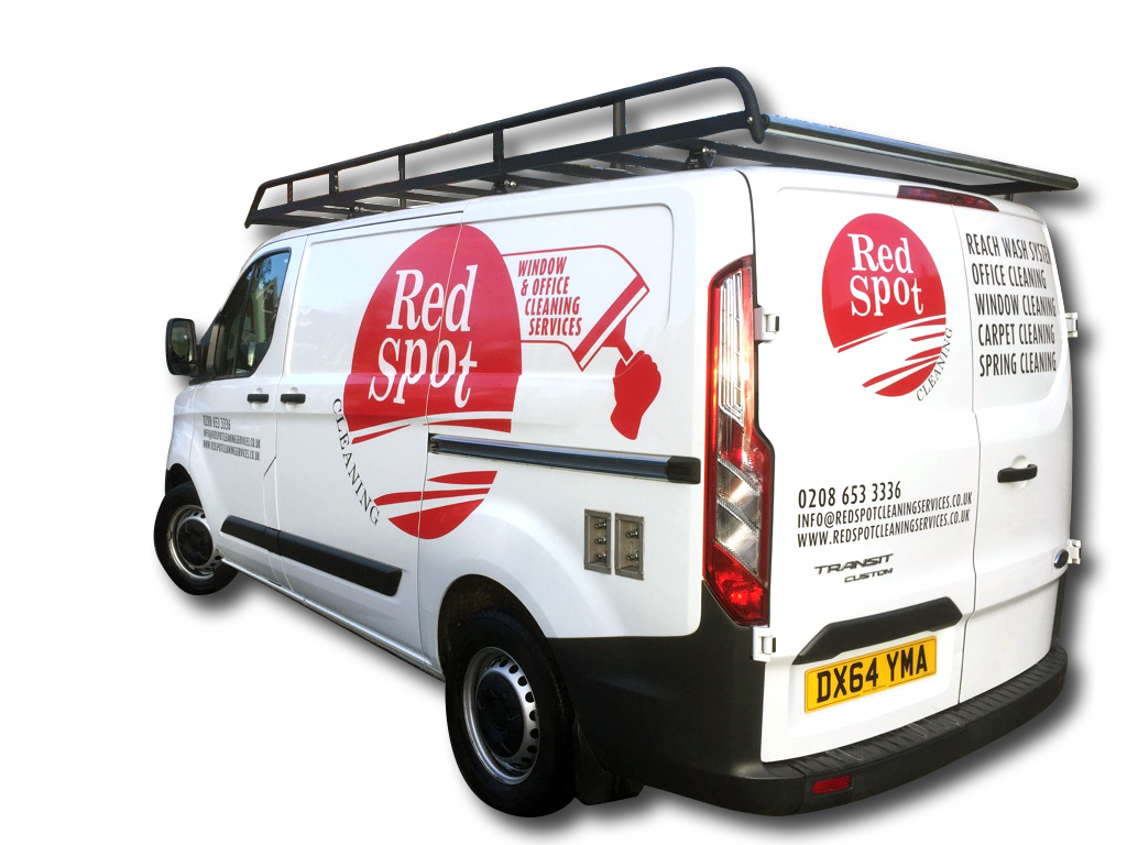Red-Spot-Services-Van